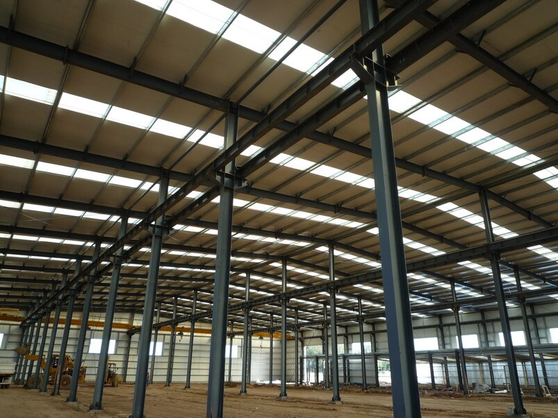 Pre Engineered Steel Structure Construction