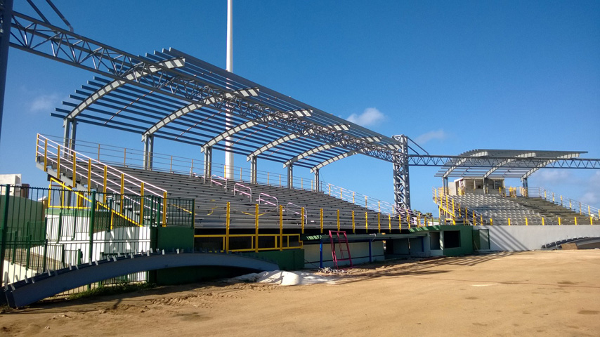 Aruba Project - Steel Structure Stadium with Truss Frame