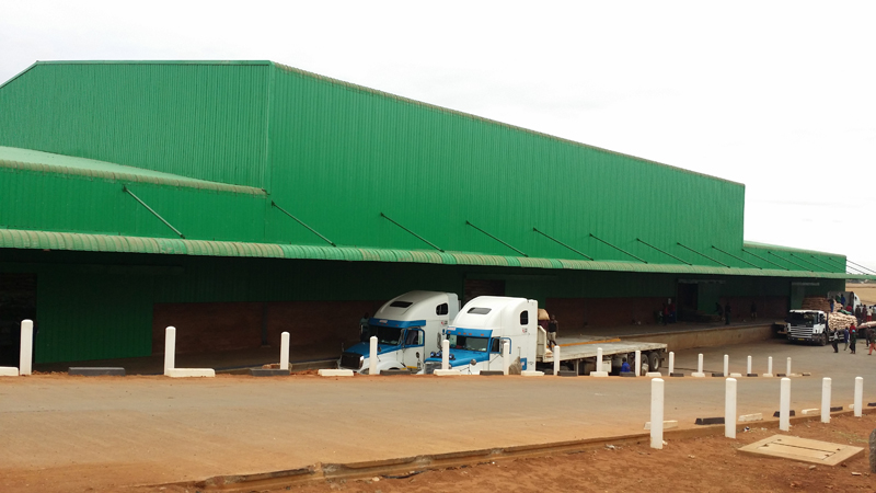 Malawi Prefabricated warehouse