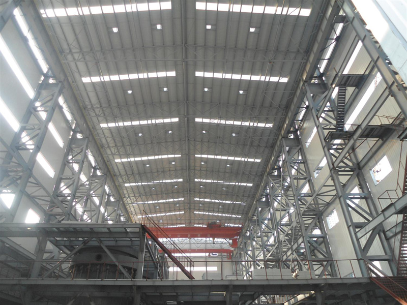 Industrial Prefabricated Steel Workshop Buildings