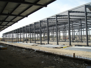 Low Cost Prefab Steel Warehouse