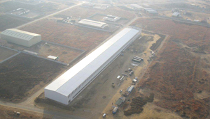 South Africa Heavy-duty Steel Structure Workshop Project.jpg