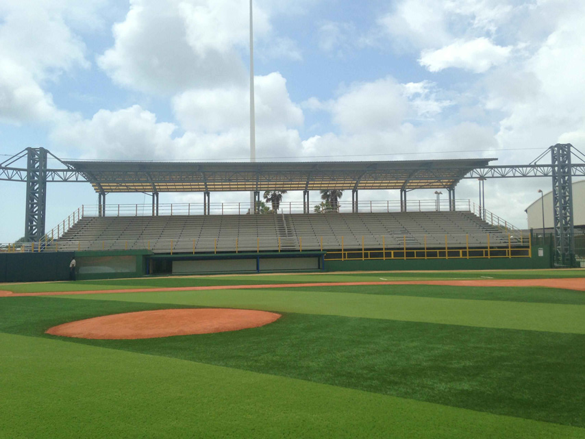 Aruba Project - Steel Truss Structure Stadium