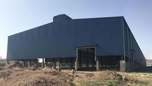 Benin Factory Shed Project