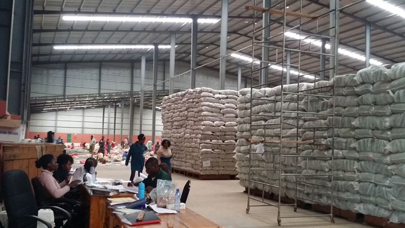Malawi warehouse project is working well