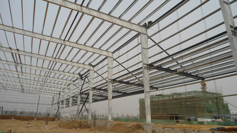 China Low Price Prefabricated Warehouse
