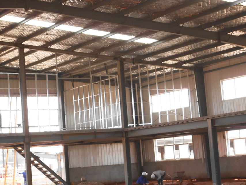 Mozambique Steel Workshop with Office