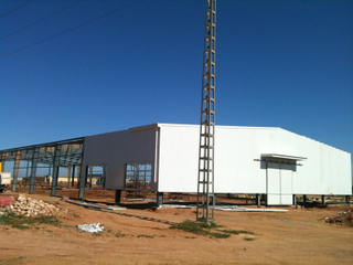 Hangar for Equipment Production Lines