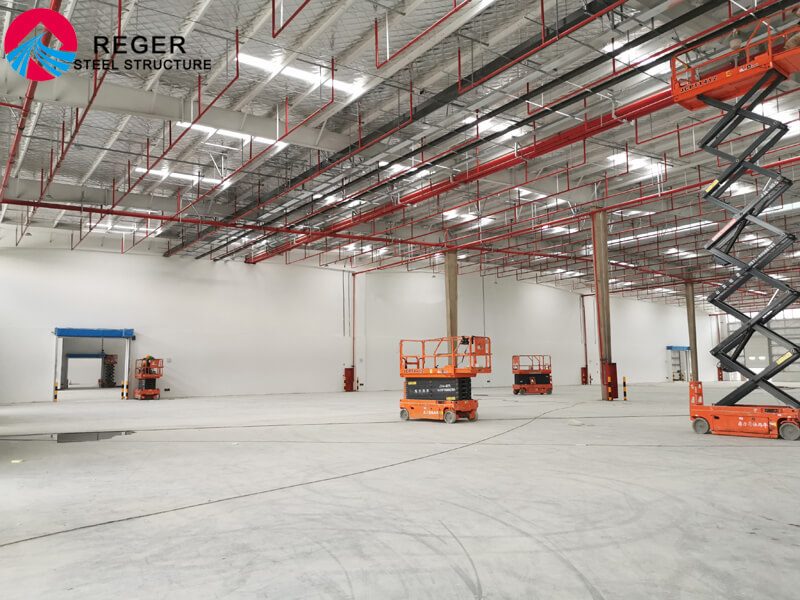 Logistic Storage Warehouse