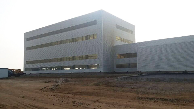 Saudi Arabia Steel Structure Plant Building Project