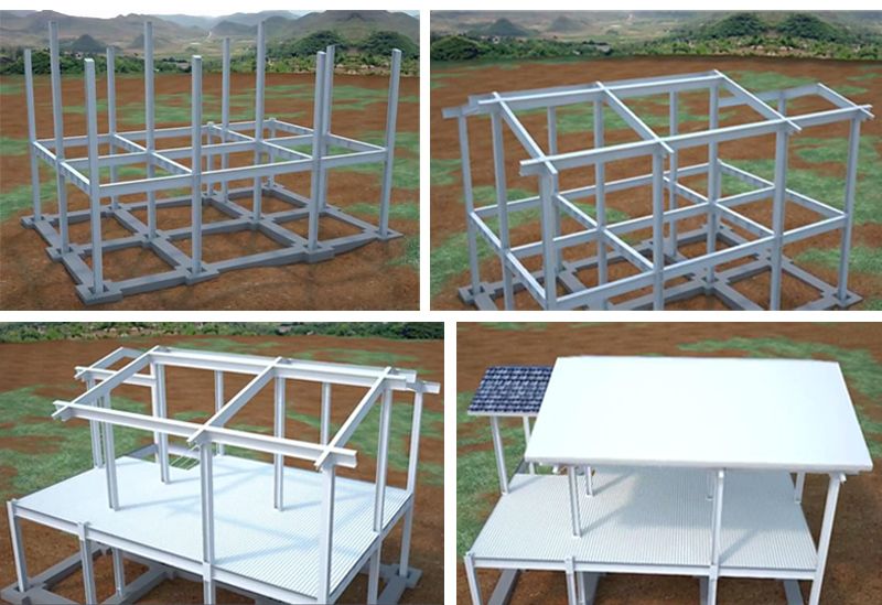 Steel Structure Housing