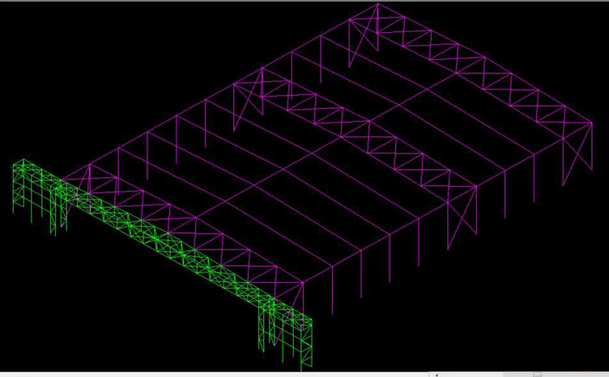 aircraft hangar structural design