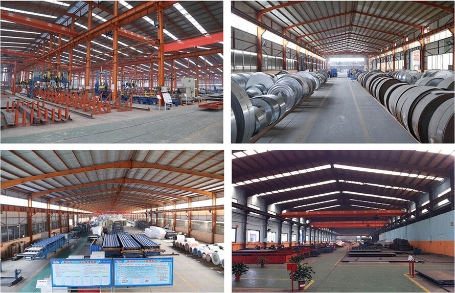 Manufacturing Workshops of Qingdao Reger Steel Building Manufacturer