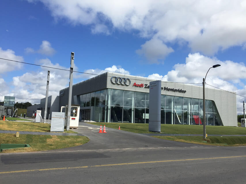 Car Showroom for Audi