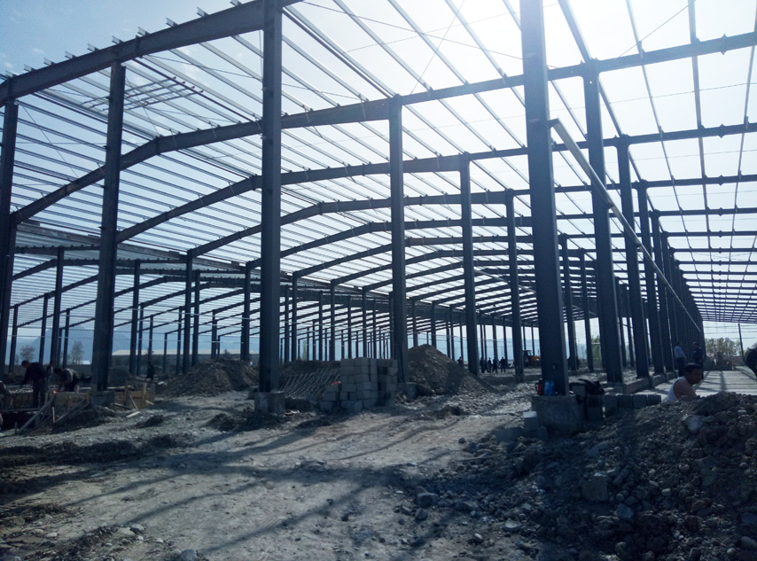 Steel Structure Cold Storage Warehouse