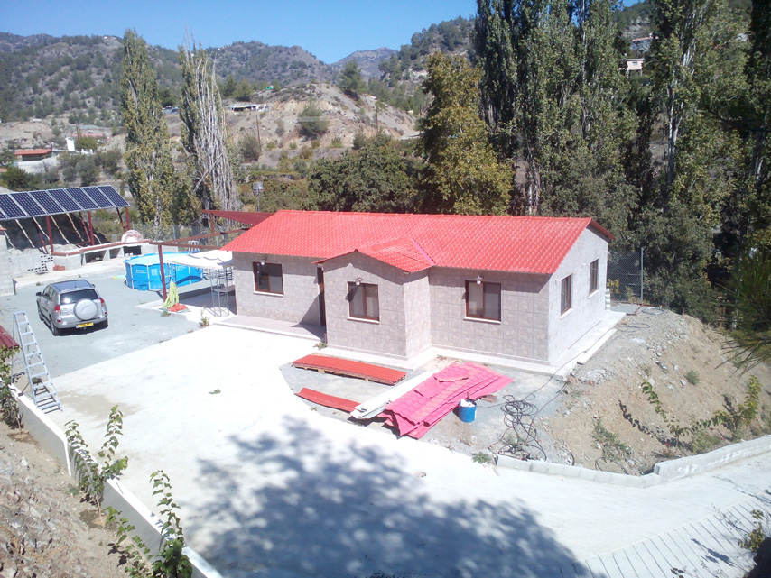 Cyprus Prefabricated House Project
